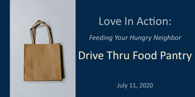 Drive Thru Food Pantry