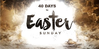 40 days to easter sunday title picture