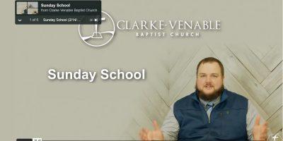 Ronnie Sunday School Pic