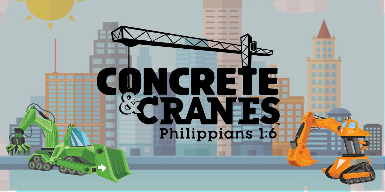 Concrete and Cranes banner