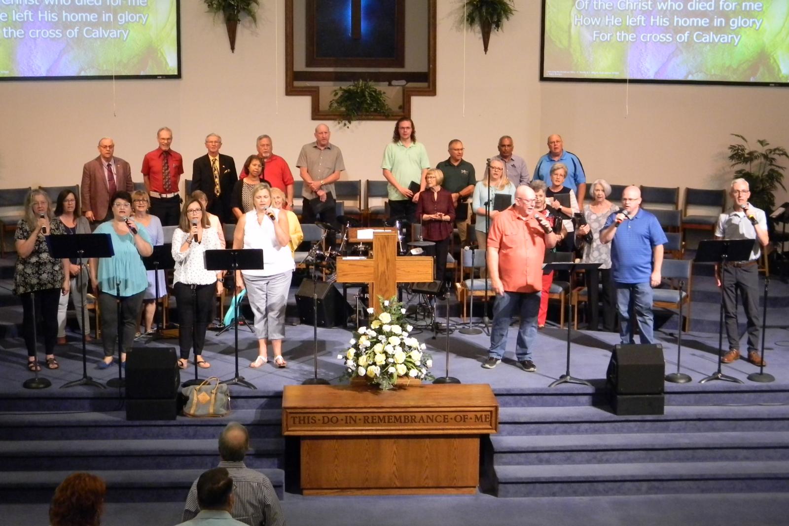 choir and team 1