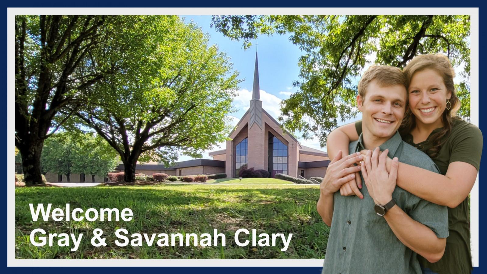 Welcome Gray and Savannah